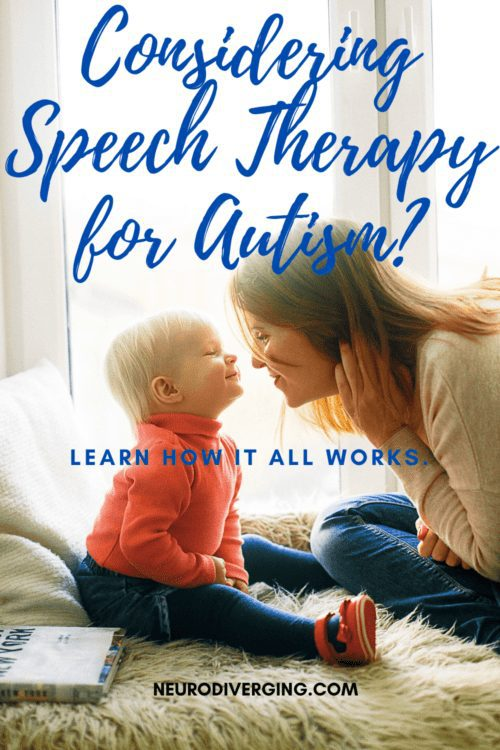 autism and speech therapy