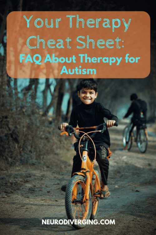 different kinds of therapy for autism
