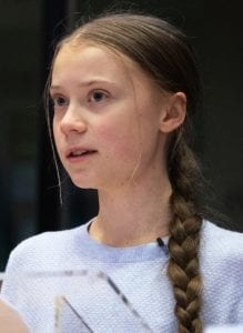our house is on fire greta thunberg