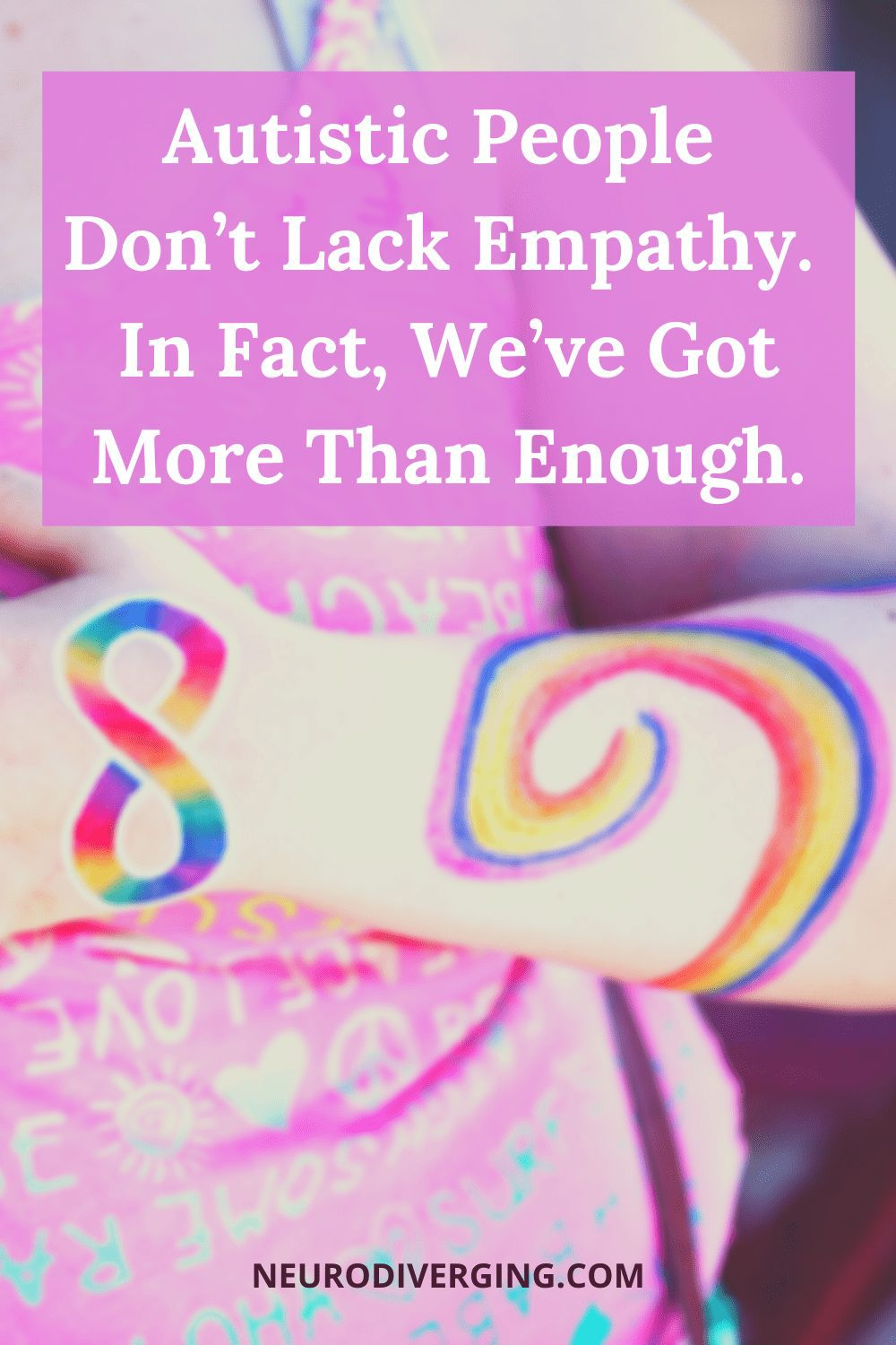 AUTISTIC PEOPLE DON'T LACK EMPATHY